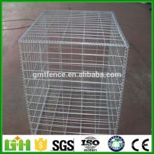 Заводская поставка гальванизированной квадратной сварной габионной коробки, сварной габионной сетки 50х50 мм
