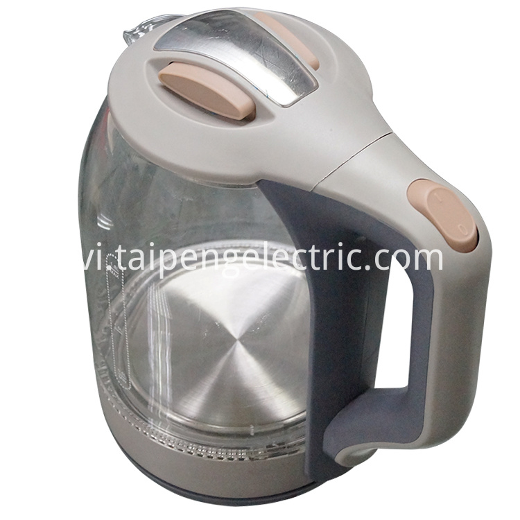 1.8L glass kettle
