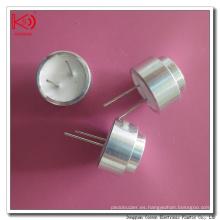 Sensor ultrasónico de aluminio de China 40kHz 12m m ultrasónico