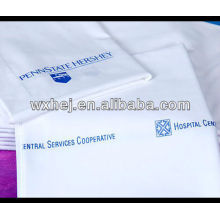 new plain white hopital fitted sheet hospital bedding set china