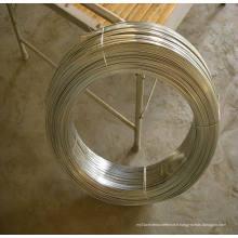 Fil en acier galvanisé plat à haute teneur en carbone