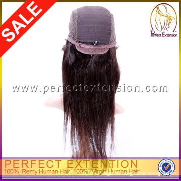 Heavy Density 100% Virgin Human Hair Full Lace Silk Top Brazilian Wig