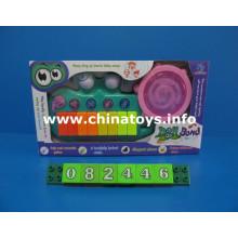 Eléctrico bebé de plástico de música piano de juguete (082446)