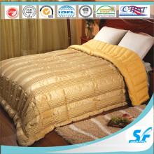 Juego de cama Duck edredón de plumas edredón edredón de seda cubierta de edredón para el hogar del hotel