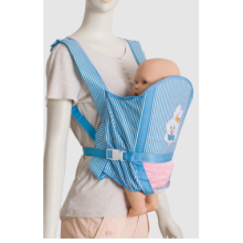 Promotional Folded blue color Baby carrier