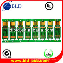 placa pcb satélite receptor