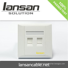 Factory Dual Face Plate For Cable Solution In China