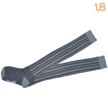 Comb Cotton Knee High Sock for Women