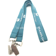 "5/8 ""Custom Printed Event Lanyards With Two Ends"