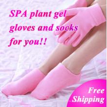 Отбеливания кожи рук увлажняющий Лечение гель СПА носки перчатки