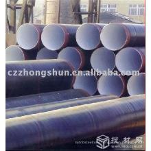 3PE steel pipe EPOXY PE WELD API 5L ASTM FLUID OIL GAS