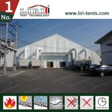 Tente incurvée de tente de hangar d'avions de TFS pour l'hélicoptère extérieur mobile d'avions de stade