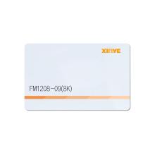 Cartão-chave RFID do hotel cartão de controle de acesso à porta de pvc