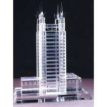 Real Estate Business Gift e Table Show Crystal Building Handicrafts