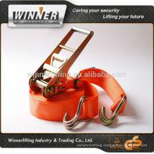 Customized portable polyester cargo lashing strap