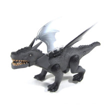 Dinosaurio plástico B / O con luz y acción (10214972)