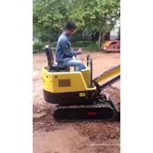 Mini excavadora hidráulica sobre orugas de 1 tonelada venta Europa