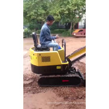 1 ton Mini Crawler Hydraulic Excavator sale Europe