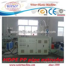 Extrusoras de tornillo único SJ-65/33 para fabricación de tubería de polietileno de alta densidad