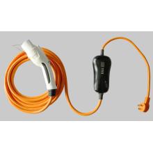 Портативное заряжатель EV 7Kw вело сообщество ODM / OEM дисплея