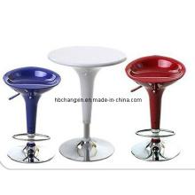 ABS-Kunststoff Stehtisch und Bar Hocker Möbel
