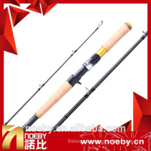 NOEBY 7'6'' FUJI graphite carbon frog casting fishing rod