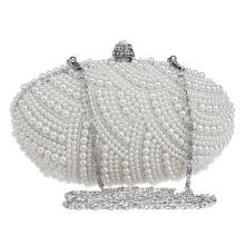 Beads Pearl Women's Evening Dinner Clutch Bag Bride Bag For Wedding Evening Party Bridal HandBags B00134 latest clutch purses