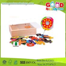 New Kids Toys Fridge Magnetic Wooden Toys