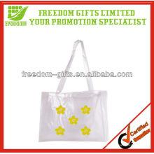 Kundenspezifische Logo und Farbe PVC Einkaufstasche