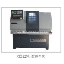 Mini máquinas do metal do CNC do passatempo da máquina Ck6125A / Ck6130A com o controlador do CNC de Fanuc