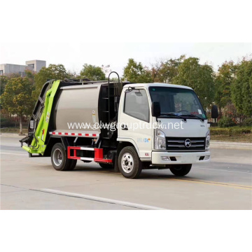 Small Compression Garbage Trucks hydraulic garbage compactor