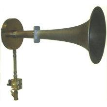 Air-steam diaphragm type sonic soot blower for boiler