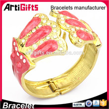 New fashion saudi gold jewelry bangle bracelet