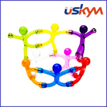 Bendable Magnetic Toy/DIY Q-Man Mini Flexible Magnets