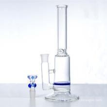 Single Blue Honeycomb Water Hookah Glass Smoking Water Pipes (ES-GB-321)