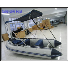 3.6m SD Series PVC Material Inflatable Boat, Multi Function Boat Used as Diving, Sightseeing, and Rescue, Heavy-Duty Inflatable Work Boat