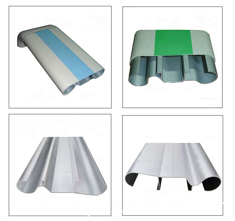 Aluminum Extrusion Profile Medical Handrail Set
