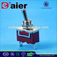 Daier spring return on off toggle switch