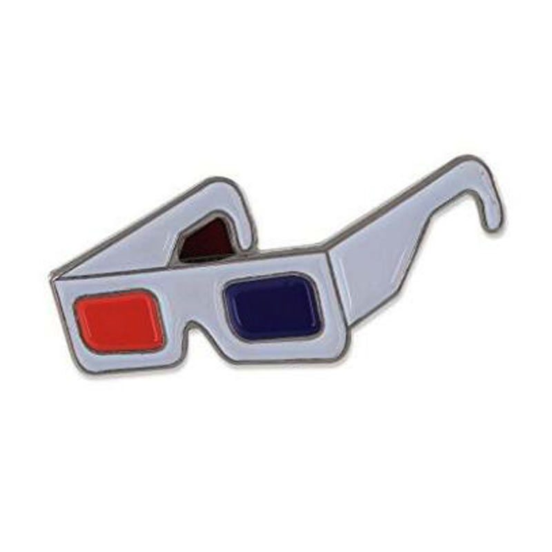 3d Movie Glasses Pin
