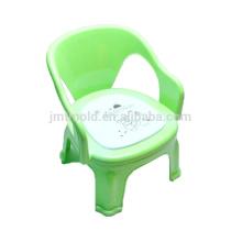 Herramienta modificada para requisitos particulares chino molde plástico de la silla de la inyección del taburete