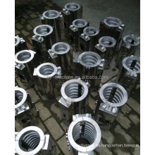 Calentadores de extrusora de aluminio para máquina de plástico