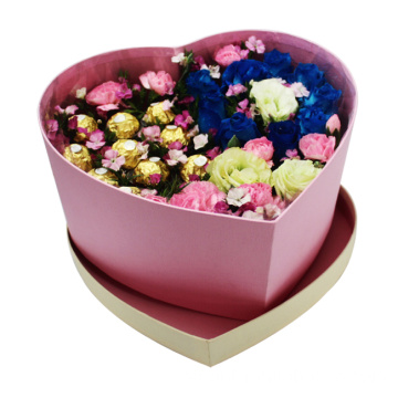Heart Shape Waterproof Paper Flower Packaging Box