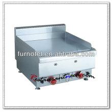 Plancha de la parrilla eléctrica o de gas de acero inoxidable K416
