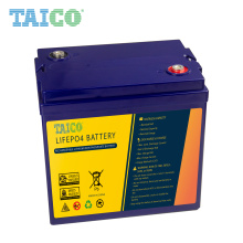 lithium lifepo4 48v 35ah battery for RV solar system yacht golf carts storage and car