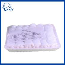 100% Cotton Yarn Aviation White Towel (QHCS9981)