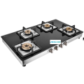 Aura 4 Burner Glass Top Gas Cooktop