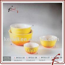Bol à fruits en porcelaine