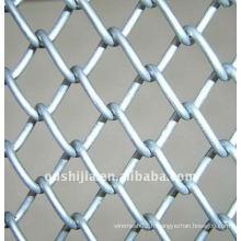 Clôture de liaison en chaîne revêtue de PVC (usine)