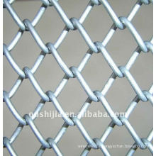 PVC Coated Chain Link Fence(factory)