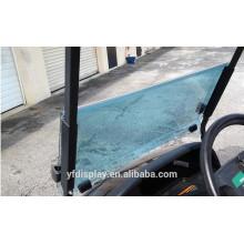 Heißer Verkauf Acryl Getönte Golf Car Windschutzscheibe für Precedent Windschutzscheibe und Antrieb